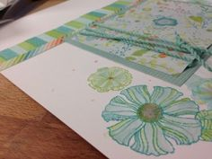 How to watercolor stamps easy
