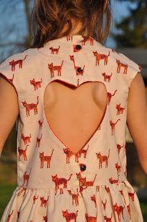 Double sweetheart dress tutorial on blog.babarum.be