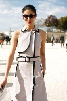 Caroline Issa  | dress look | street style