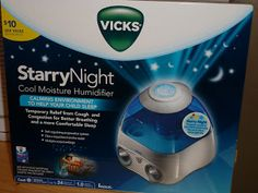 At the Fence: Baby Shower Kickoff! Vicks Starry Night Humidifier!