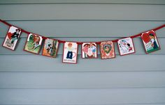 SALE 10% discount Vintage Valentine Card Banner