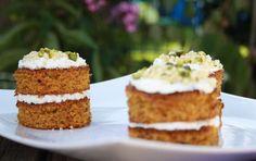 Möhren-Mandelkuchen, eine Kombination aus süß und herzhaft