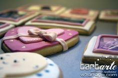 Girl cookies by www.tartarte.com