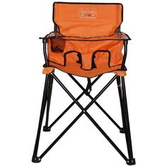 Portable high chair. Travel. camping.
