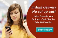 Instant delivery · No set up cost  Helps Promote Your Business, Cost Effective Bulk SMS Solution call : 011-41625695,011-46563575 9911344466, 9911882220. Know more : http://www.bulksmsmantra.com/