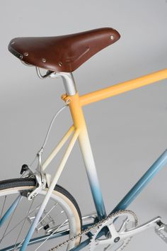 Brooklyn-based Nick and Rachel Cope of Calico Wallpaper's artisan bike