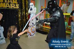 Darth Vader para fiestas infantiles en Barcelona