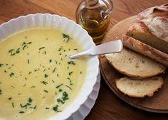 Leek and potato soup recipe | Soups