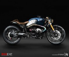 BMW R nineT by Holographic Hammer