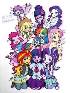 MLP Season 6 [Equestria Girls ver.] by Aizy-Boy40