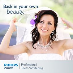 We couldn't agree more! Zoom Teeth Whitening, White Smile, Medical History, Wedding Veils, Wedding Hairstyles, Unique, Beauty, Australia, Flower