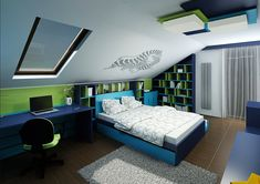 Futuristic Home, Bedroom Themes, Kidsroom, My Dream Home, Architecture, Places, House, Furniture, Home Decor