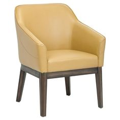 Sunpan Dorian Club Chair Mustard - 100361