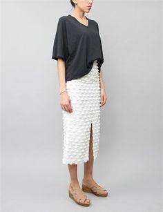 pompom skirt