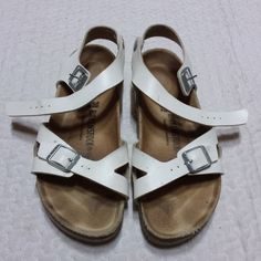 65213bd31f24 Birkenstock Sandals Size 38 245mm Women children shoes made in Germany.   fashion  clothing
