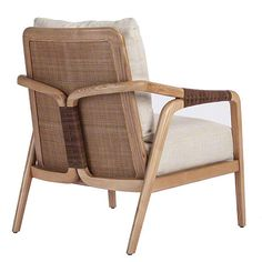 New Arrival: Knot Lounge Chair A-102 Leather bindings replace the traditional McGuire rawhide detailing. The interlaced leather accentuates the dramatic shape of the frame, adding a layer of exquisite handcrafted detail.