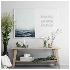 Posters with Scandinavian Design. We have posters that match well with Scandinavian and Nordic interior. Room Inspiration, Interior Inspiration, Entryway Decor, Bedroom Decor, Yoga Studio Home, Deco Zen, Halls, Pinterest Home, Cozy House