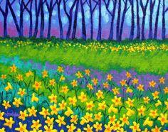 Daffodil Field by John Nolan
