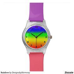 Rainbow Wrist Watch