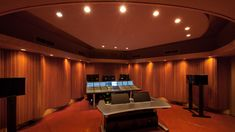 Manifold Recording Studio: the Studio Annex – Karsten Schnölzer – Audioroom Studio Speakers, Home Theater Speakers, Studio Gear, Home Studio, Studio Theater, Recording Studio Design, Guitar Room, Sound Studio, Audio Room