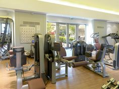 State-of-the-art fitness facilities for hotel guests and spa members at Calcot Spa, Calcot Manor Hotel near Tetbury in The Cotswolds. #Gym time! http://www.calcotmanor.co.uk/calcot-spa/http://www.calcotmanor.co.uk/calcot-spa/