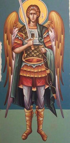 Roman Church, Roman Catholic, Religious Icons, Religious Art, Byzantine Art, Orthodox Christianity, Archangel Michael, Jesus Pictures, Guardian Angels