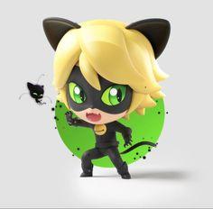 Miraculous Ladybug - Chibi Cat Noir