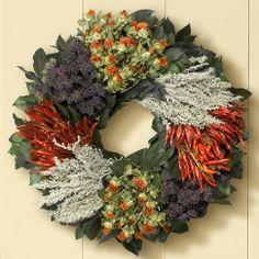 southwest wreath | Southwest Herb Wreath | Wreaths Year-Round