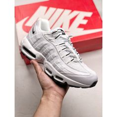 9f9191226b9e5 Nike Air Max 95 Simple And Simple Convenient Pure Colour Design Cleverly  Blends With Supportive Cushioning And Comfort Cushioni