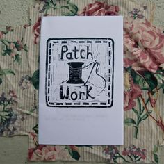 PatchWork Zine by sockmonster on Etsy, $4.00