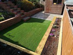 Garden Makeover, Back Gardens, Stepping Stones, Landscaping, Building, Outdoor Decor, Home Decor, Homemade Home Decor, Buildings