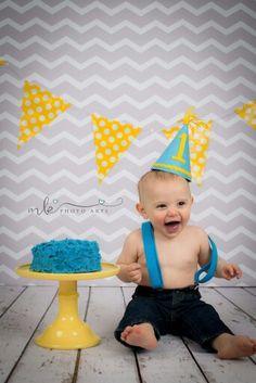 Cake smash-boy Cake Smash, Cake Art, Boys, Photography, Home Decor, Baby Boys, Homemade Home Decor, Cake Smash Cakes, Children