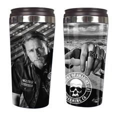 Sons of Anarchy Jax Teller Travel Mug - Just Funky - Sons of Anarchy - Mugs at Entertainment Earth