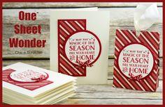 One Sheet Wonder - Cozy Christmas