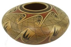 Lot: Hopi Pottery Jar - Fannie Nampeyo, Lot Number: 0520, Starting Bid: $1,200, Auctioneer: Allard Auctions Inc., Auction: Indian Art - Best of Santa Fe 2014, Date: August 17th, 2014 MDT