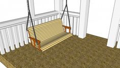 Free Porch Swing Plans MyOutdoorPlans Free Woodworking Plans and Projects, DIY Shed, Wooden Playhouse, Pergola, Bbq Porch Swing Plans Free Gazebo Diy, Pergola Swing, Cheap Pergola, Pergola Kits, Pergola Plans, Small Pergola, Bench Swing, Pergola Ideas, Pergola Garden