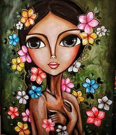 Ballet Painting, Acrylic Painting Flowers, African Art Paintings, Pop Art Girl, Girly Drawings, Art Journal Inspiration, Art Pictures, Art Gallery, Illustration Art