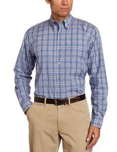Alex Cannon Men's Fine Check Sport Shirt « Clothing Impulse