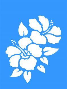 stencil flores - Buscar con Google                                                                                                                                                                                 Más