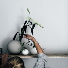 Styling of Cooee vases in store!