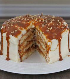 Dulce de Leche Vanilla Cake... Course: Dessert... Servings: 12... Prep. time: 20 min... Cook time: 30 min...