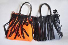FRAN2 in Orange fluo and Grey w/Black frenzies