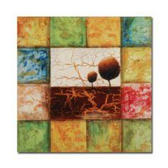 gedehnt handgefertigt knistern-malen abstrakte Malerei