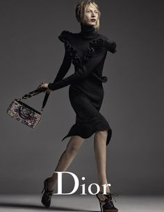 DIOR Fall 2016 AD CAMPAIGNPhotographer | Steven MeiselModel | Julia NobisStylist | Carine RoitfeldHair | Guido PalauMakeup | Peter Philips