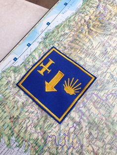 Camino de Santiago patch  signs of the Camino . The by baubletjes, $7.00