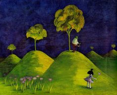 Binette Schroeder - Lupinchin (an illustration from my favourite childhood book)