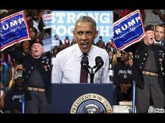 Angry Obama Defends Trump Protester at Clinton Rally