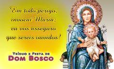 Reze e Medite com o tema do 2º Dia do Tríduo de Dom Bosco!
