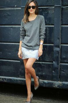 Yigal Azrouel skirt, Marni shoes