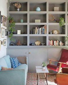 Bookcase, Shelves, Home Decor, Offices, Blue Prints, Shelving, Decoration Home, Room Decor, Book Shelves